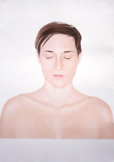 Francesca Pizzo, Cold Cold Cold No. 03, matita su carta, 100x70 cm