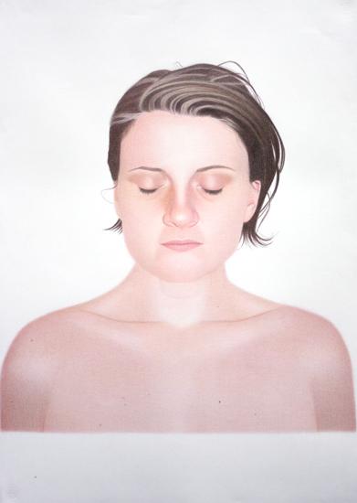 Francesca Pizzo, Cold Cold Cold No. 01, matita su carta, 100x70 cm