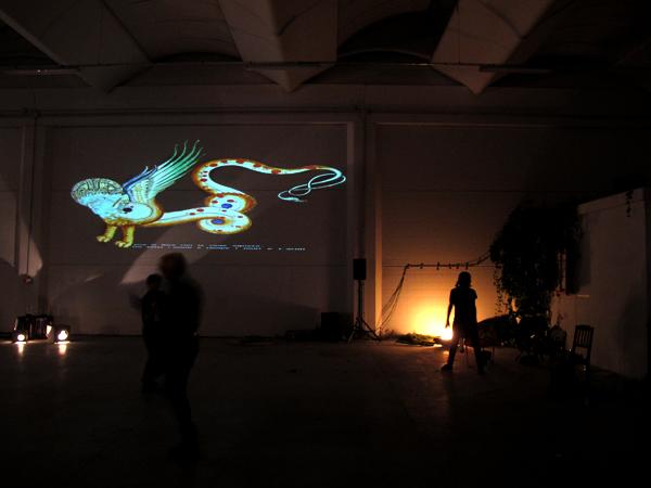 Zootropio 5/6-11-2011 – Nicole Riefolo, 'Gerione', video installazione, 2009.