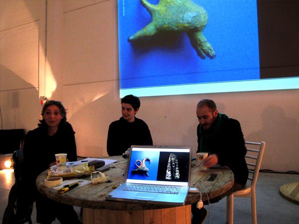 Zootropio 5/6-11-2011 – Artist/curator talk w/Vincenzo Estremo, Anna Santomauro, Elke Roelant