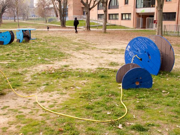 Green Days Project :: L'opera di arte pubblica di Enrico Vezzi al Parco Parker-Lennon di Bologna