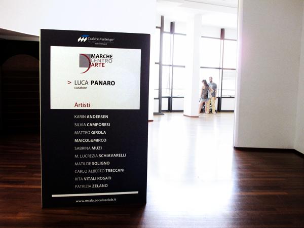 Senza Titolo a cura di Luca Panaro, Marche Centro d'Arte - San Benedetto del Tronto