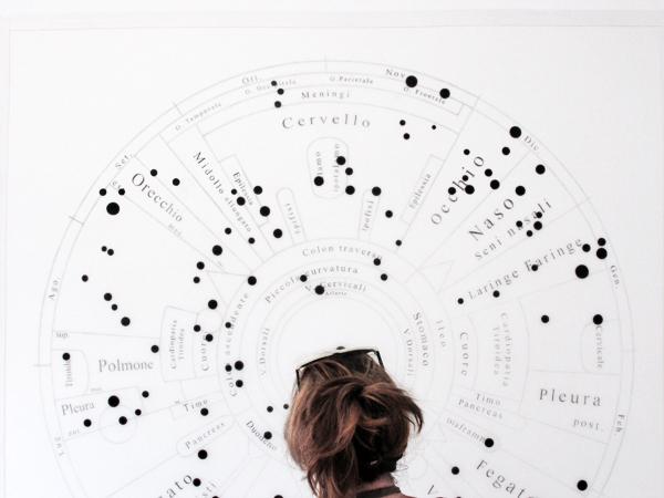 Maria Lucrezia Schiavarelli, Medesimi rapporti (2012) - detail