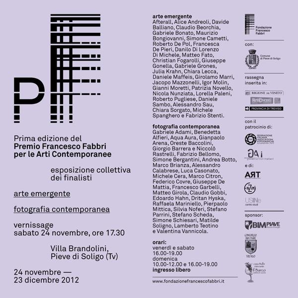 Premio Fabbri per le arti contemporanee